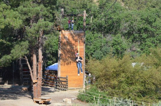 Big Rock Candy Mountain Resort: Zipline