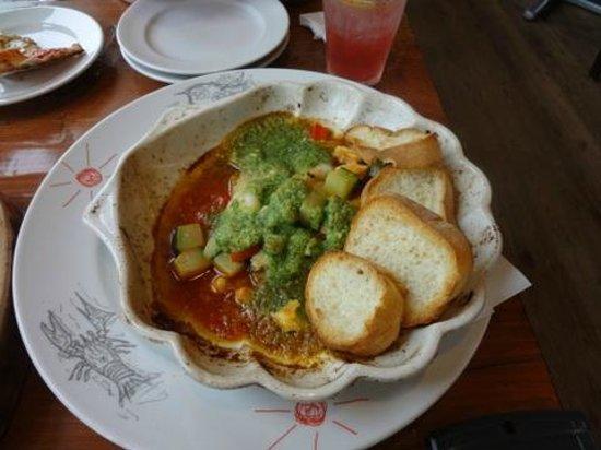 iL CHIANTI CAFE : 海の幸の地中海焼き江の島バージョン
