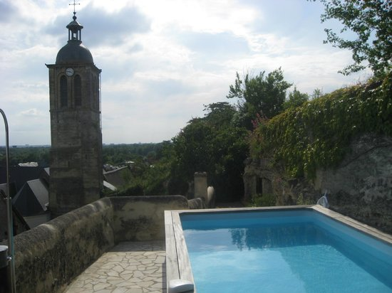 La Rocheliere : View from the pool