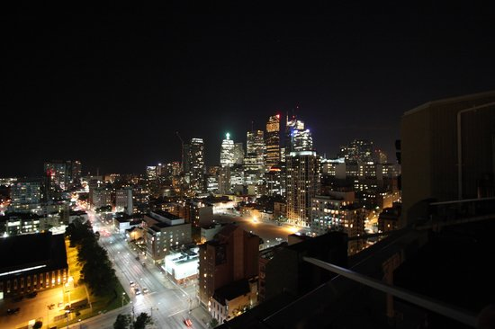 Grand Hotel Toronto: View from roof terrace