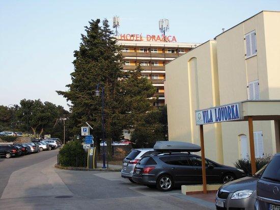 Villa Lovorka: Ansicht von außen