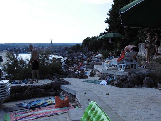 Villa Lovorka: Strand
