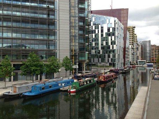 Mercure London Paddington Hotel : Paddington Basin - a short walk from the hotel