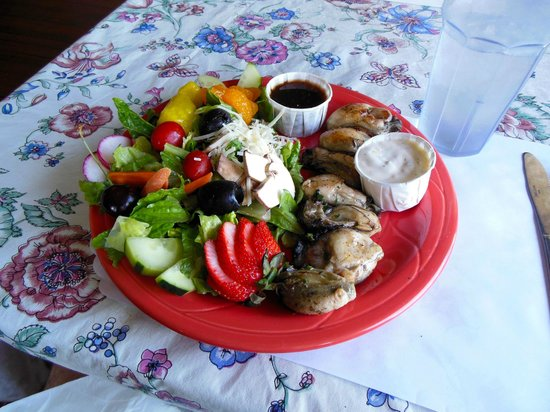 Kendra's Kitchen: Salad with oysters