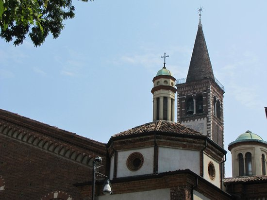 Cappella portinari particolare d 39 affresco 2 foto di for Piazza sant eustorgio