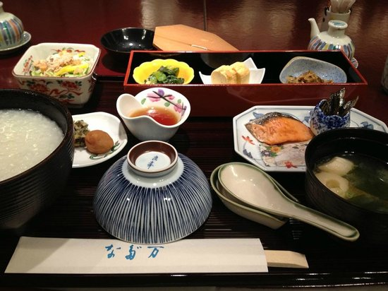 RIHGA Royal Hotel Osaka: なだ万の朝ごはん、完璧!