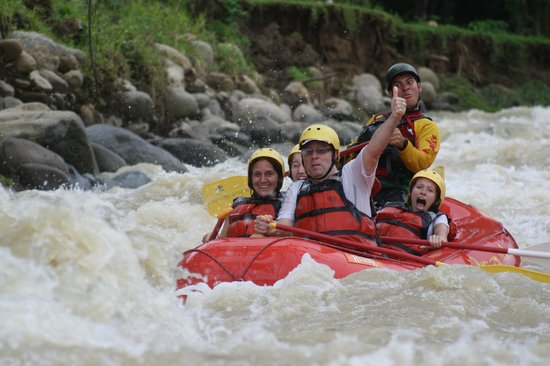H2O Fluvial naranjo river, costa rica - picture of h2o adventures, manuel