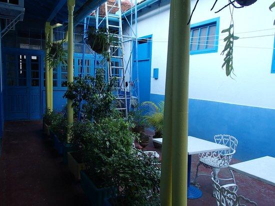 Hostal Azul: Innenhof