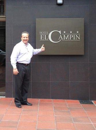 Hotel el Campin : I'll be back!