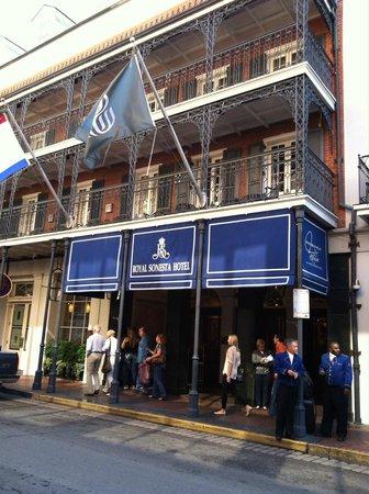Entrance On Bourbon Street Picture Of Royal Sonesta New Orleans