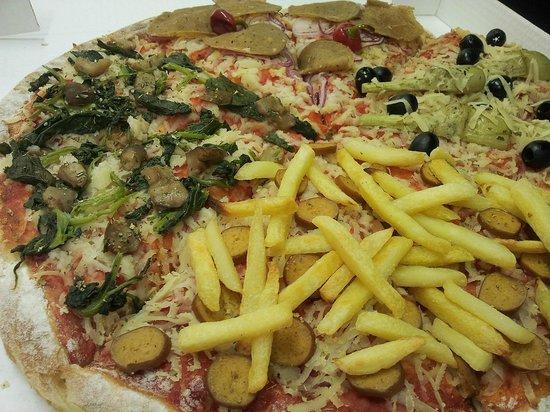 L'Edy pizza: pizza Vegan 100%...