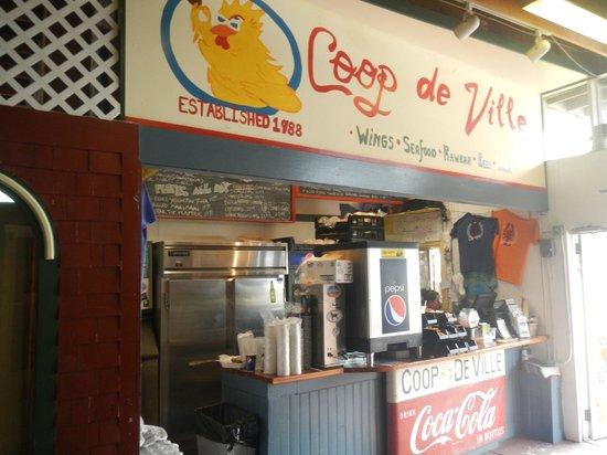 Coop de Ville Restaurant: Great food and atmosphere