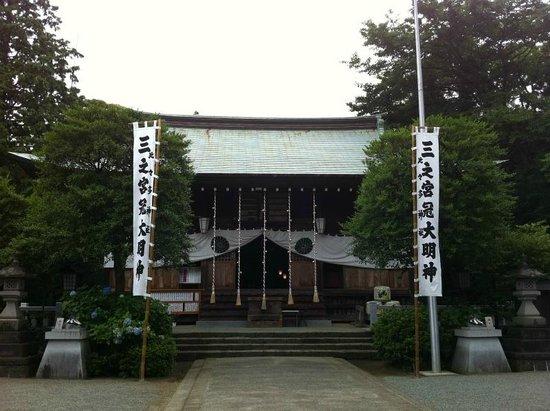Sannomiya Hibita Shrine: 全景