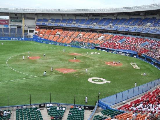 Chiba Marine Stadium: 3塁側2階席から