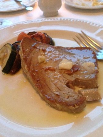 Excellence Punta Cana: Tuna Steak from French Restaurant