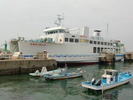 Michineoki Irago Crystal Port : 伊勢湾フェリー