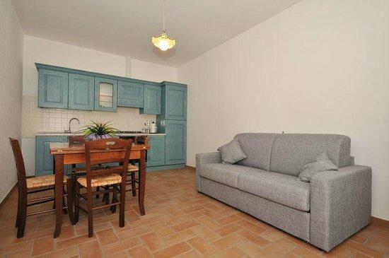 Soggiorno angolo/cottura appartamento Montepulciano - Picture of ...
