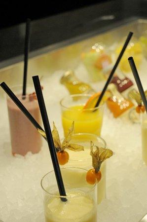 Restaurant Olympiasee: Große Auswahl an Drinks und Säften