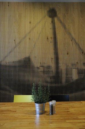 Restaurant Olympiasee: Modernes Design und Interieur