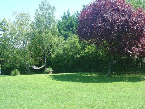 Les Vents Bleus: Une partie bien reposante du jardin !