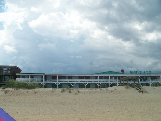 Sea Foam Motel : View from the Water