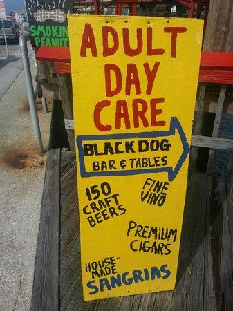 Black Dog Bar & Tables: LOL