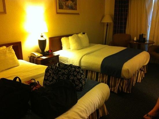 Clarion Hotel & Conference Center: double room #179