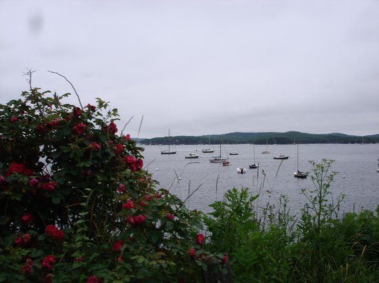The Castine Inn: View of bay at Castine