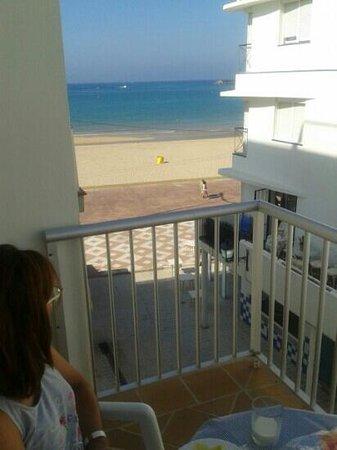 Apartamentos Playa Barbate : vistas desde la terraza