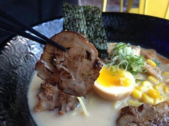 Menglu Sushi : 炙燒拉麵