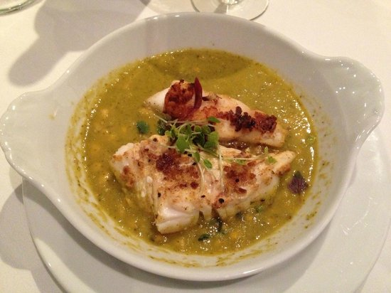 Vermilion : Grouper Served with Tomatillo Corn Salsa, Specialty Item