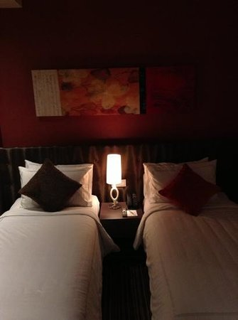 Park Avenue Changi Hotel: the beds