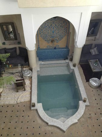 Riad Papillon: Splash pool