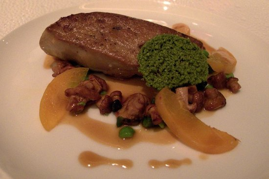 Caprice (Central): Sauteed Duck Foie Gras at Caprice