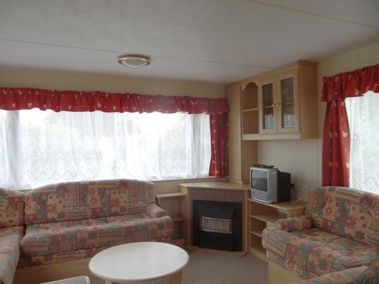 St Helens Holiday Park: Sitting Room