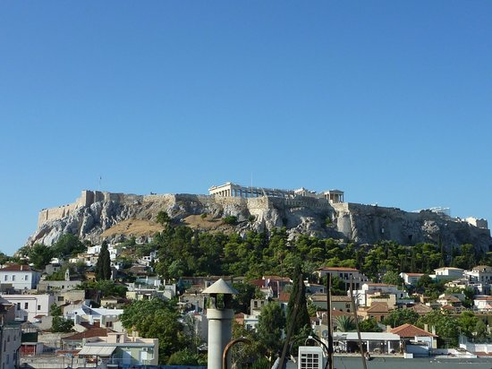Plaka Hotel : The Acropolis