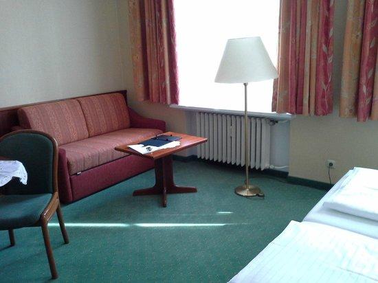 Hotel Marienbad: Lo spazio era moltissimo, c'era anche un salotto