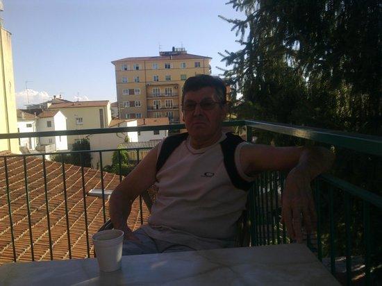 Hotel Puccini: Udsigt fra balkon
