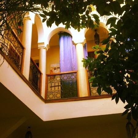 Riad Amra: Our rooms at first floor.
