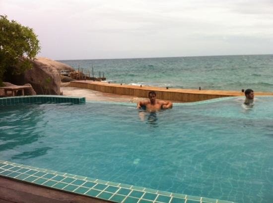 Koh Tao Hillside: Swimmingpool