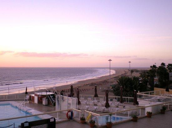 Atlantic Beach Club: Das Foto habe ich vom Balkon unseres Zimmers aufgenommen