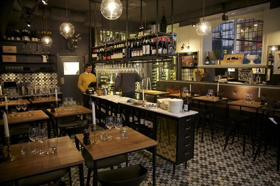 The restaurant cultur bar bild från
