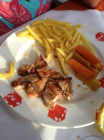 Restaurant Kreuz & Post: lemon veal