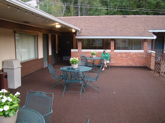 BEST WESTERN Hickok House: The deck