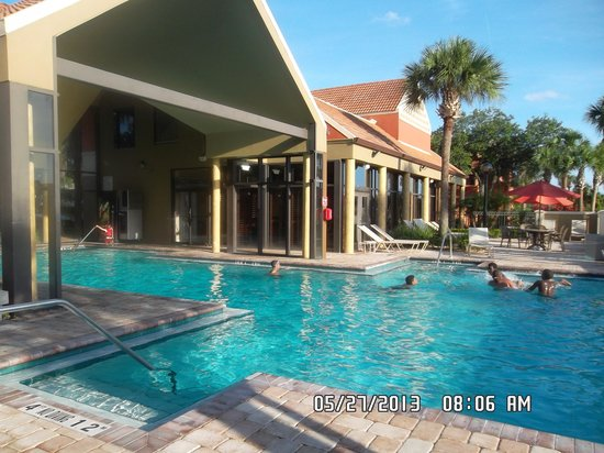 Legacy Vacation Resorts: indoor and outdoor pool