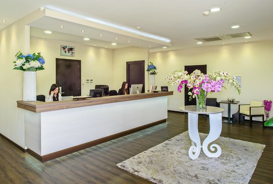 Hotel Roma Sud: Reception