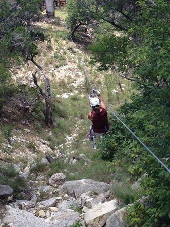 Wimberley Zipline Adventures: I am doing it!!!