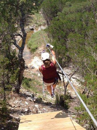 Wimberley Zipline Adventures: FUN!!