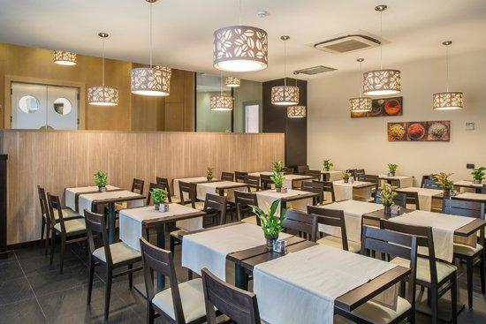 Hotel Roma Sud: Sala Colazione/Sala congressi - Breakfast Room/Meeting Room