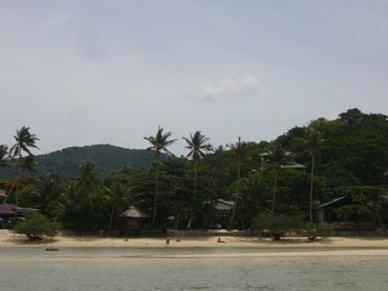JP Resort: our hotel from the beach